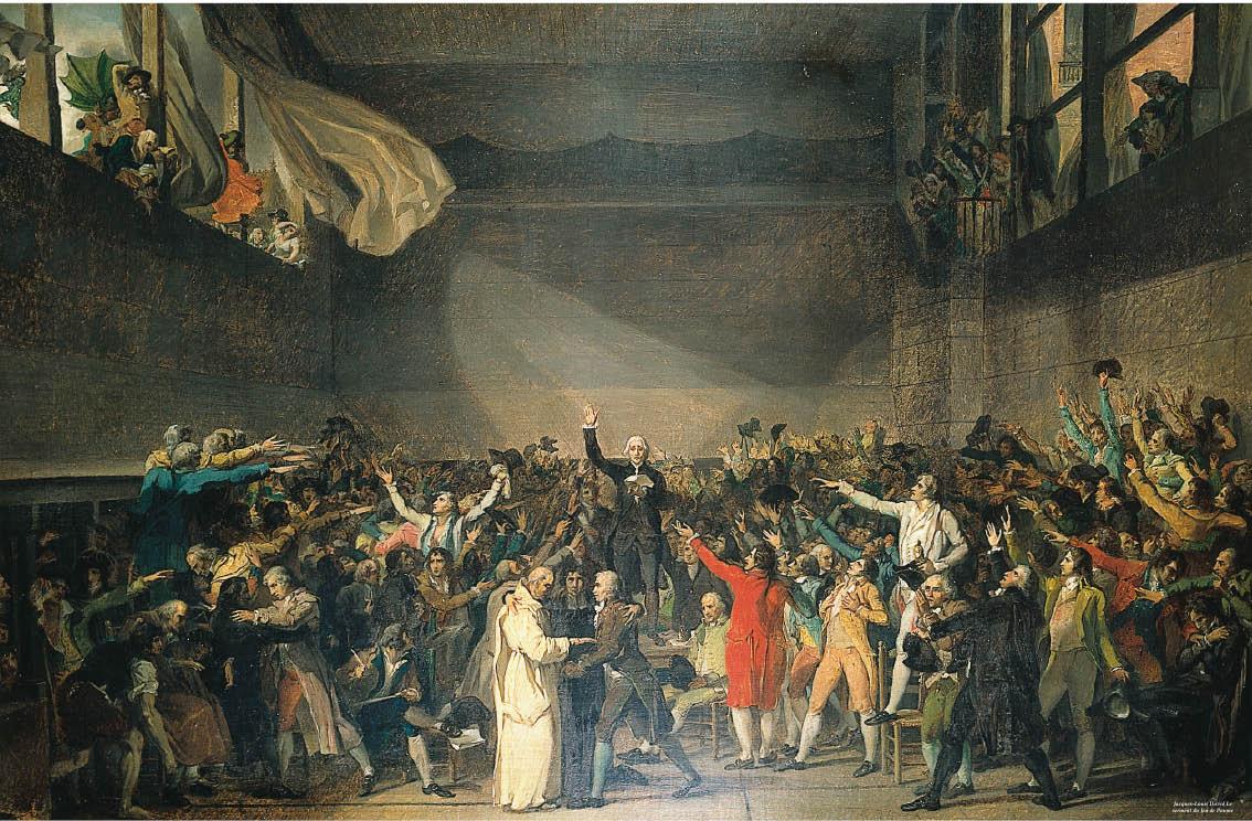 Jacques-Louis David Le serment du Jeu de Paume.jpg